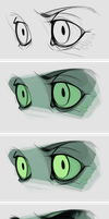Eyes coloring by SHADE-ShyPervert