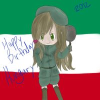 Happy Birthday Hungary by spottedcloud123