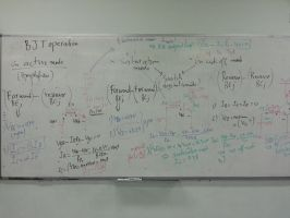 Electronics I class.... so much information by The-Nuclear-Pegasus