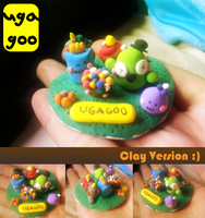 uga goo figurine by supperfrogg