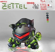 Ref Sheet Zettel by XD-or-what