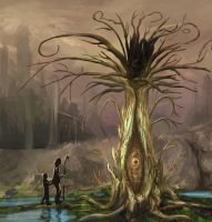 Dead tree of life by Ranivius
