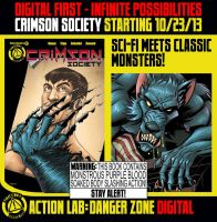 Crimson Society on sale next week!!! by CTrigo