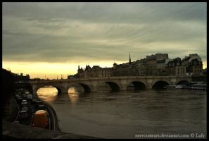 Dawn on Paris by NervousTears