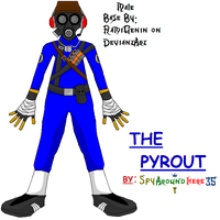 Blue Pyrout - full body by spyaroundhere35