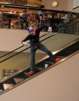 Waluigi Goes to the Mall by lost-capella