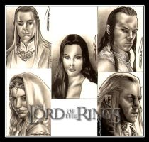 Elves of Middle-earth by RandySiplon