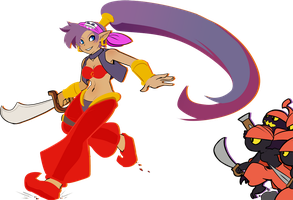 Shantae by drowtales