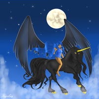 CE: Riding on Clouds by MagicalLady