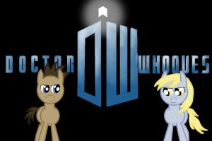 Doctor Whooves Logo by Ahack13