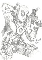 DEADPOOL by Mightyfox-Rixou