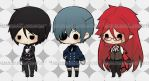 [BES] Black Butler by UnderworldPP