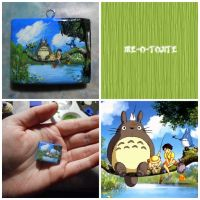 My Neighbour Totoro Mini Painting Charm by Me-O-Tojite