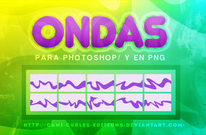 +Ondas/ Waves : PS| Png by CAMI-CURLES-EDITIONS