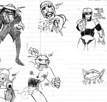 Random Characters Part 2 by Tom-One