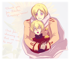 APH - Thank you for Hetalia by Orchidias