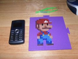 Mario perler ... by dylrocks95