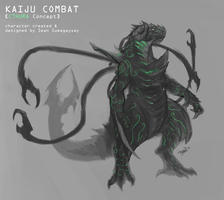 Cthura Redesign for Kaiju Combat! by SeanSumagaysay