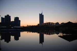donau city by ITphotography