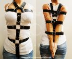 Handmade Leather Harness by FragileDesires