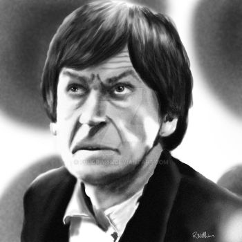 2nd Doctor Patrick Troughton by Fulgrim65