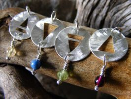 Element Necklaces with Beads by MoonLitCreations