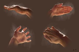 Hands study by RynkaWorks