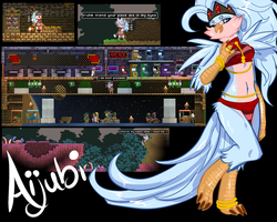 [Starbound] Aijubi the Avian Princess by MystikMeep