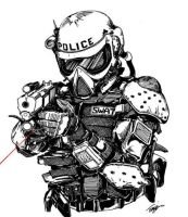 Tactical SWAT Officer by angelfire7508