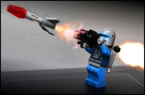 Mandalorian missile test. by SWAT-Strachan