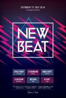 New Beat Flyer by styleWish