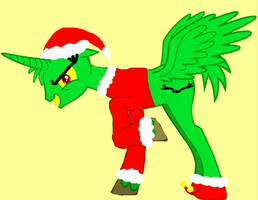 The grinchy pony by Benthehyena