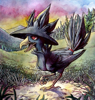 Murkrow by Chilkat