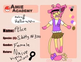 Pokemon Amie- Alice app by StarVeeWolf
