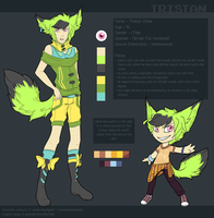 Tristan Reference Sheet by Inklash