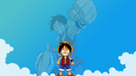 One Piece - Luffy by MeSuperNinja
