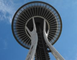 Seattle: Space Needle I by Photos-By-Michelle
