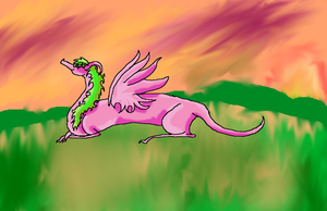Fairy Dragon by AngelFireDemon4