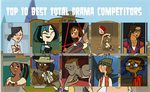 air30002's Top 10 Best Total Drama Competitors by air30002