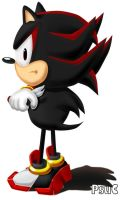 Shadow: Classic Sonic style by PsuC