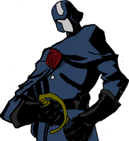 Resolute Cobra Commander colors by lovefistfury