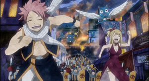 The Start of NaLu by Macy-Chan