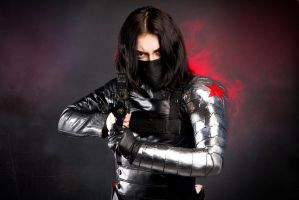Winter Soldier Cosplay by mysteria-violent