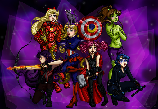 The Milky Way's Mightiest Heroes by hannahbird