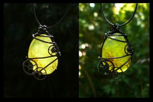 Pendant 'Eternal life' by clemcrea