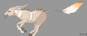 Goat creature adoptable(CLOSED) by xXNuclearXx