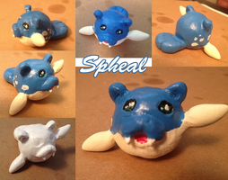 Spheal Sculpture - Gift for Matt by Frey-ofthe-Arcane