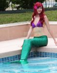 Singing by the Pool (Ariel) by woot859