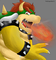 Bowser By Thedragonred12 by brawl9977