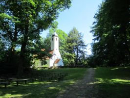 small forest chapel Oberberghausen _ june 2012 by pesim65